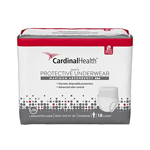 cardinal-health-uwmlxl18-mens-underwear-maximum-absorbency-18-ct-large-xl