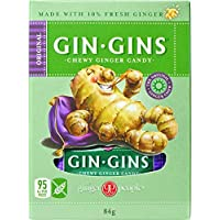 THE GINGER PEOPLE Gin Gins Ginger Candy Chewy - Original 84g