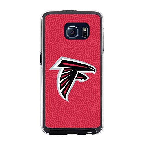 NFL Atlanta Falcons Football Pebble Grain Feel No Wordmark Samsung Galaxy S6 Case, Team Color