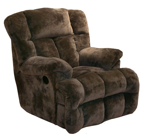 Power Chaise Recliner in Chocolate
