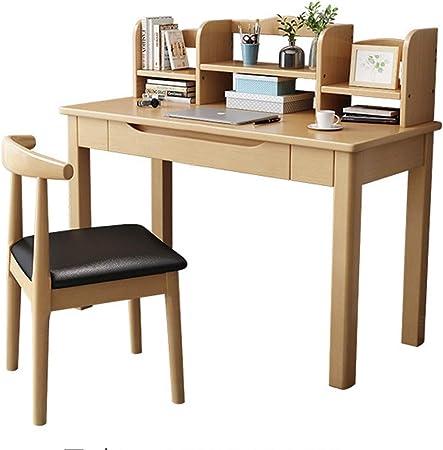 Juego de mesa para silla de escritorio para niños Madera de la computadora de escritorio con
