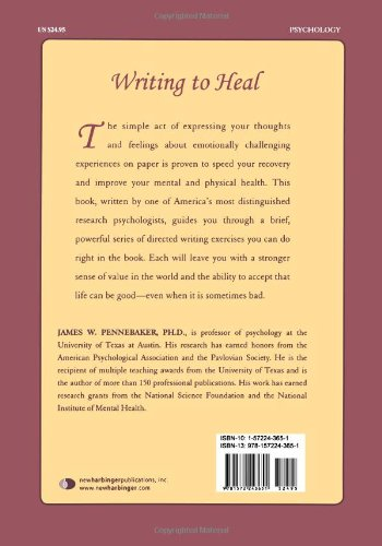 Writing to Heal: A guided journal for recovering from trauma ...