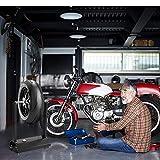 Goplus Motorcycle Bike Wheel Balancer, Rim Tire
