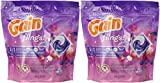 Gain Flings Moonlight Breeze Laundry Detergent Pacs 14 Count (Pack of 2) Total 28 Pacs