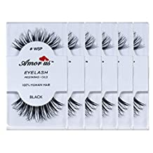 Amorus 100% Human Hair False Eyelashes #wsp Compare Red Cherry by Amorus