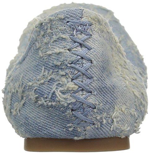 Women's Brand Print Flat Emmie Ballet Faded Canyon Blue Lk Floral Rose Lucky Medium 5dfnzqwpd