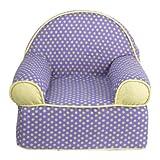Periwinkle Kids Foam Club Chair