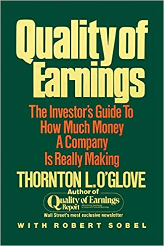 Quality of Earnings: Thornton L  O'glove: 9780684863757