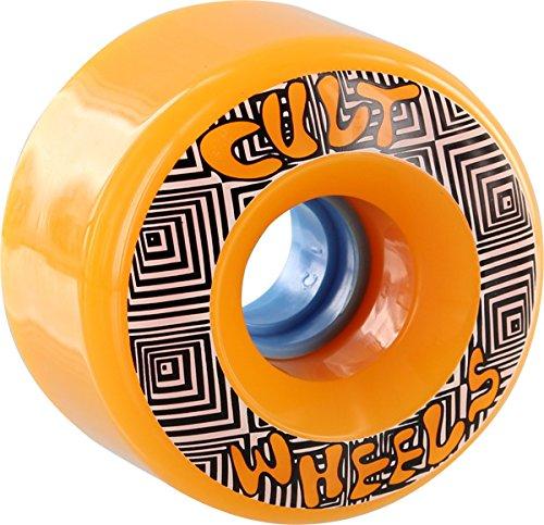 Cult Converter 70mm 85a Orange Skateboard Wheels (Set Of 4)