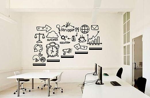 Crjzty Etiqueta De La Oficina Motivacional Inspirar Vinilo