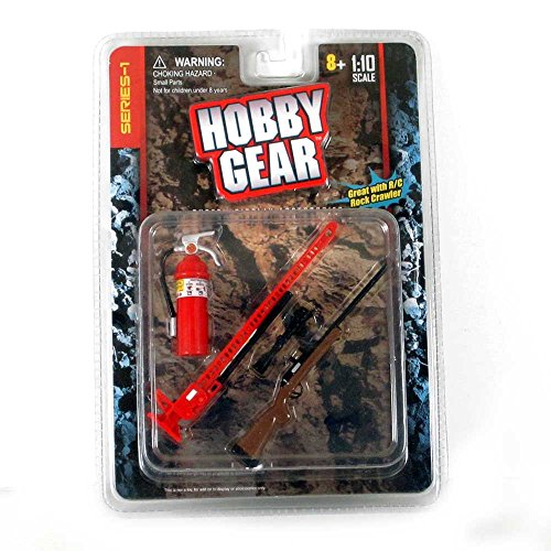 Hobby Gear 15107 Rifle, High Jack, Extinguisher Scale Accessories ()