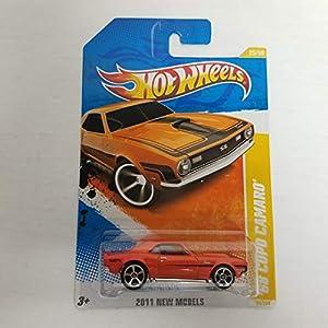 '68 Copo Camaro Orange Color 2011 Hot Wheels New Models 1/64 diecast car No. 25