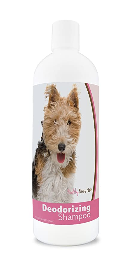Amazon.com: Healthy Breeds Deodorizing Dog Shampoo for Wire Fox ...