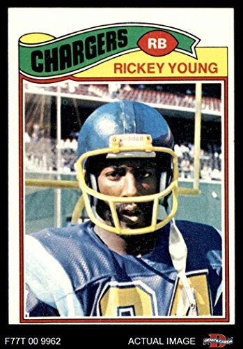 1977 Topps # 384 Rickey Young San Diego Chargers (Football Card) Dean's Cards 5 - EX Chargers