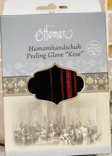Ottoman Pflegeserie Peeling Hamamhandschuh Kese Luxus für den Körper (Herren), 1er Pack (1 x 1 Stück)