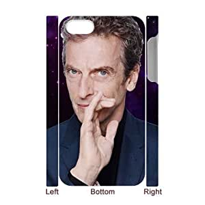 E-Isam Diy Iphone 4/4s hard Case Peter Capaldi Doctor Who,customized 3D case