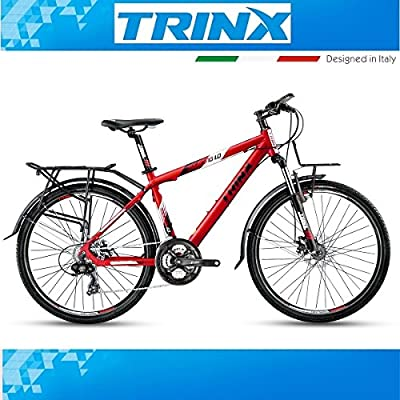 Bicicleta de trekking hombre bicicleta trinx Touring 1.0 26 ...