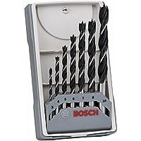 Bosch 2607017034 3/4/5/6/7/8/10 mm X-Pro Wood Drill Bit Set