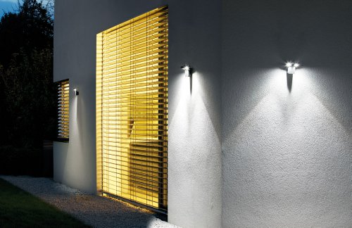 Osram Noxlite Spot LED Outdoor Wall Luminaire, 6000 k, Day Light, 18 W