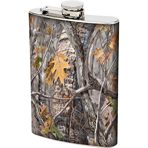 Meyerco MC1618 BRK 8oz Jx Camo Flask