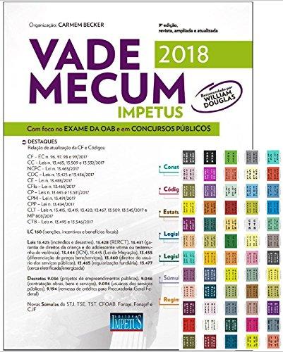 Vade Mecum Impetus Para OAB. Concursos. 2018