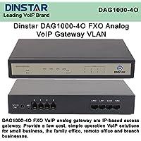 Dinstar DAG1000-4O FXO Analog VoIP Gateway Simple Operation VLAN