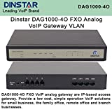 Dinstar DAG1000-4O FXO Analog VoIP Gateway Simple Operation VLAN