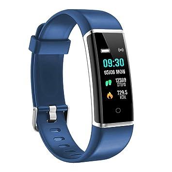 moreFit Fitness Armband Kinder,Wasserdicht IP67 GPS Fitness Tracker Farbbildschirm Aktivitätstracker Schrittzähler Uhr mit St