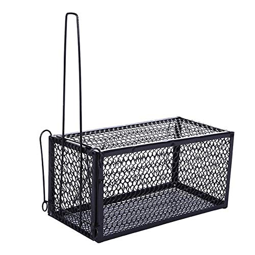 8  New Rat Cage Mice Rodent Animal Control Catch Bait Hamster Mouse Trap Home Metal Rat Killer Cage S L   L 28X14X14cm