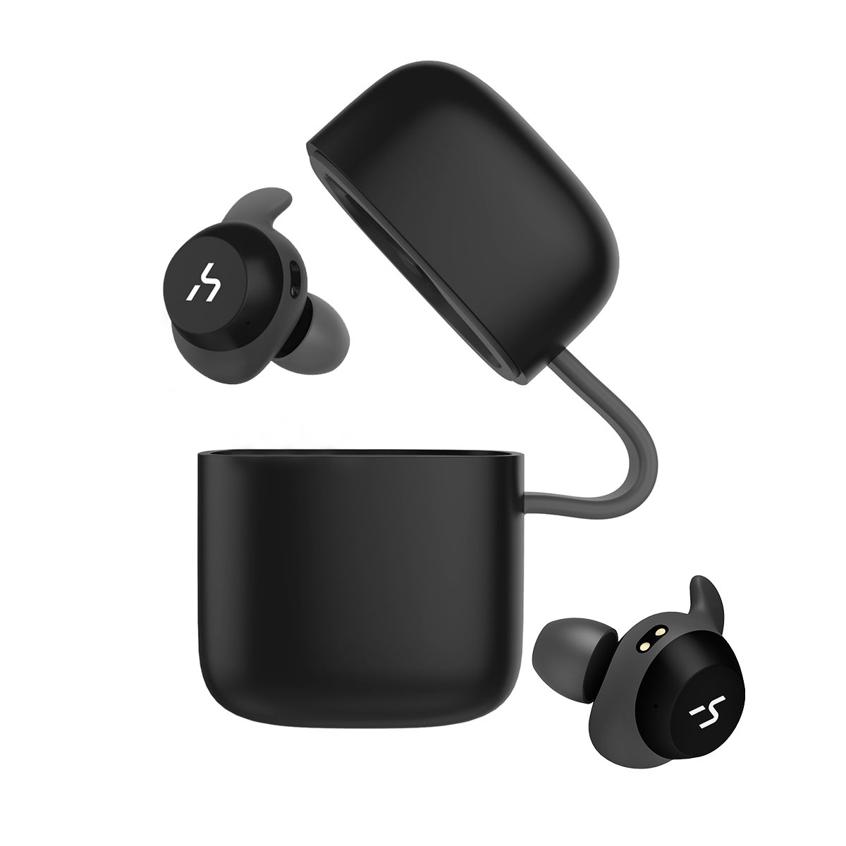 13c4066b30c HAVIT TWS Bluetooth In-ear Earphones True Wireless Stereo Earbuds, Storage  Box with Charging Function and 18-Hours Play Time, Waterproof and  Artificial ...