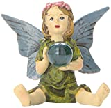 Hi-Line Gift Ltd. Miniature Fairy Garden Girl with Crystal Ball Review