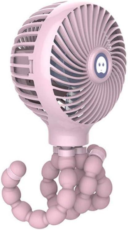 HLSX Ventilatore portatile ricaricabile velocità batteria mini ventilatore statico Blu Giallo