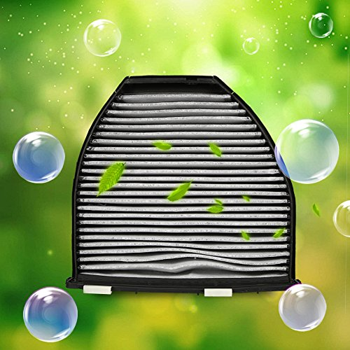 Qiilu Car Cabin Air Filter For Mercedes Benz AMG GT S C250 C300 Includes Activated Carbon (CUK29005) by Qiilu (Image #3)