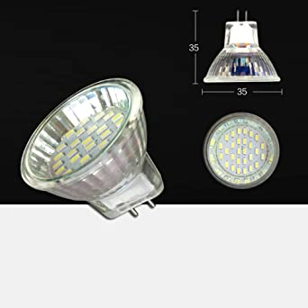 TIPOPP Bombillas LED Bombilla de luz LED MR11 spot light bulb 220V ...