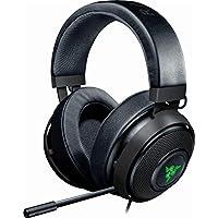 Razer Kraken 7.1 V2 Wired Surround Sound Gaming Headset for PC, Mac, PS4 (Gunmetal Gray)
