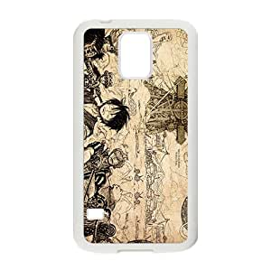 One Piece Cartoon Anime Black Samsung Galaxy S5 case