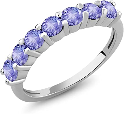tanzanite and 925 sterling silver ring