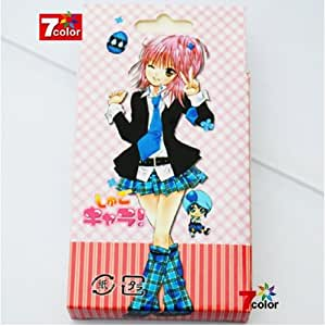 Japan Animation しゅごキャラ Shugo Chara Hinamori Amu Poker Cards 54 Different Pic