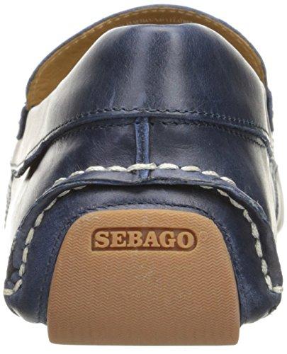 Sebago Mænds Kedge Venetianske Slip-on Dagdriver Flåde Læder xSe801yiB
