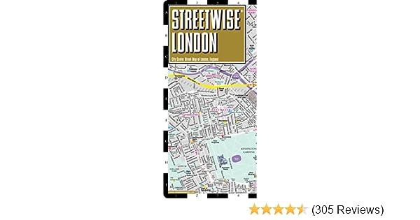 Streetwise London Map Laminated City Center Street Map Of London