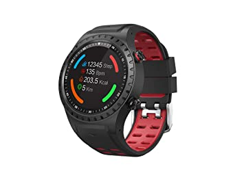 Inkasus Montre connectee GPS - Edition Adventure - Rouge