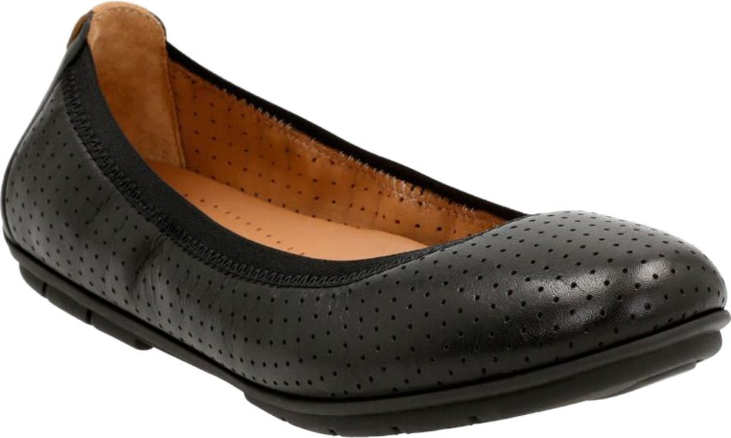CLARKS Womens Un Tract B01IAMNG7S 6 B(M) US|Black Leather