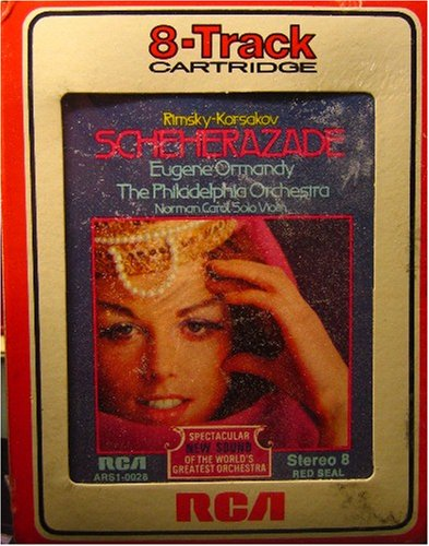 Eugene Track - 8 Track Cartridge - Scheherazade - Eugene Ormandy - The Philadelphia Orchestra