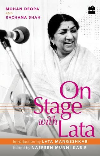 On Stage with Lata