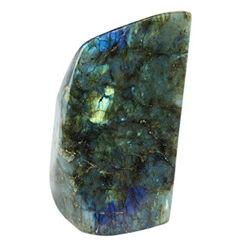 Class 1 Labradorite Upright Stone by Joyoung Int. 40-44 oz.