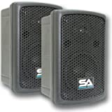 Seismic Audio - NPS-6 -  6'' Molded PA/DJ SPEAKERS Speaker System