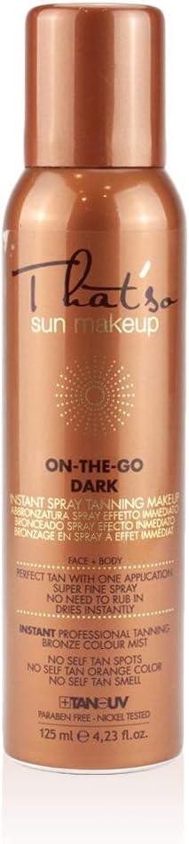 That´So - On The Go Dark Spray Autobronceador, 6% Dha, 125 ml