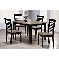 Simmons Upholstery 5014-48 East Pointe 5 PC Dining Set