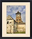 Framed Print of The german fortified church of Valea Viilor (Wurmloch) in Transsilvania, listed