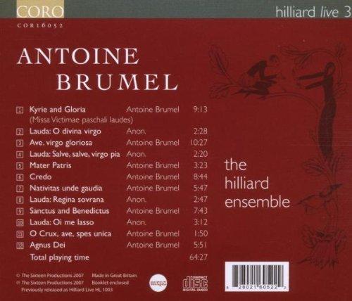 Hilliard Live 3 by Coro (Image #1)